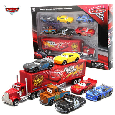 7PCS/Set Disney Pixar Car 3 Lightning Toy