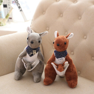 30cm 1 pc Mother and Child Kangaroo Plush Toys