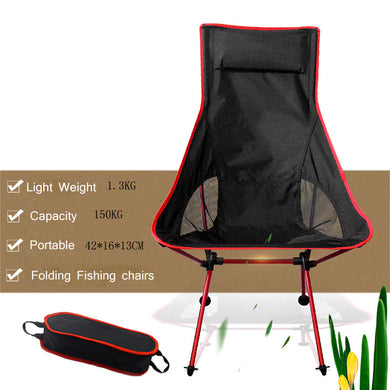 Portable Collapsible Moon Fishing Camping Outdoor Chair