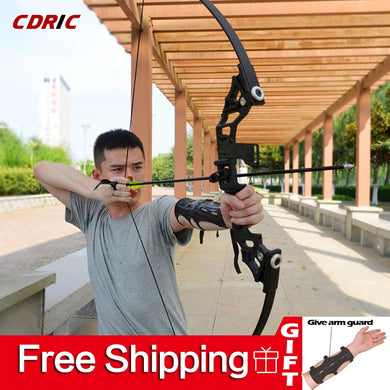 30-50lbs Straight Bow Powerful Archery Re-curve Bow