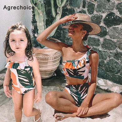 Mother/Daughter Swimsuit in a unique design