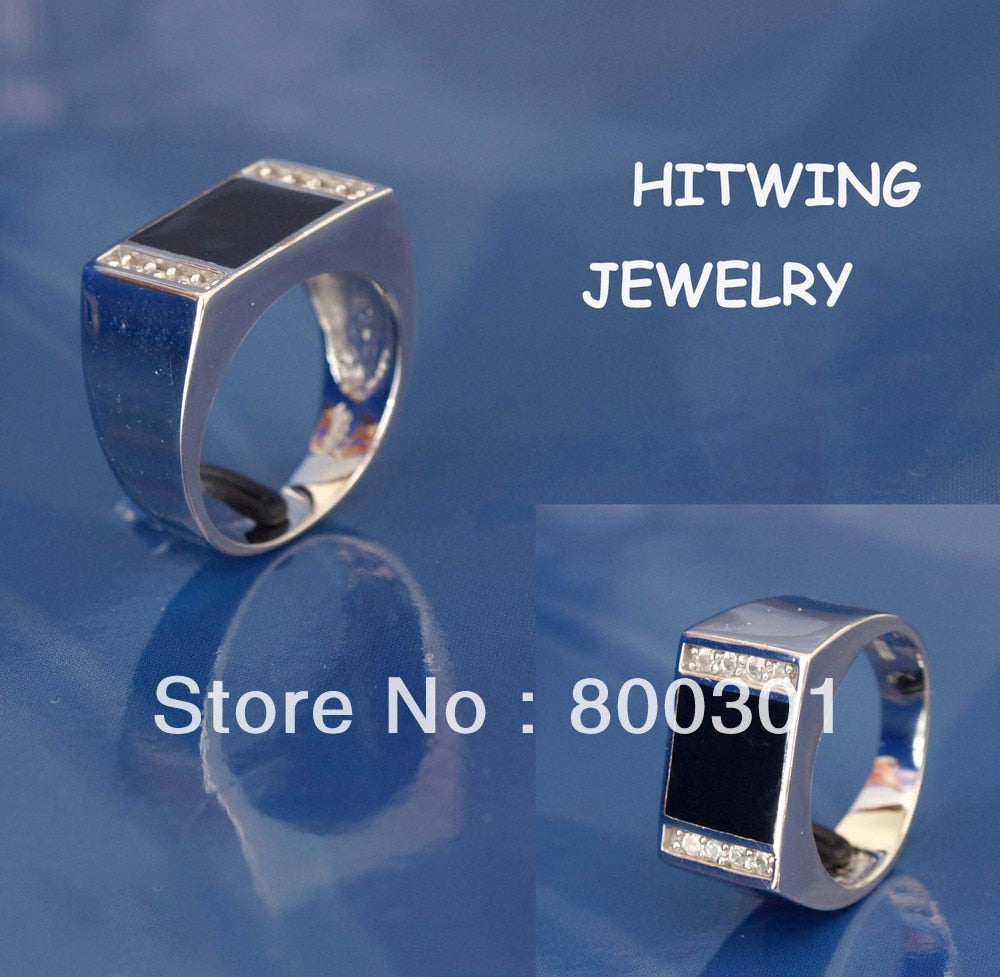 Gorgeous Handsome Style Men's Silver Ring