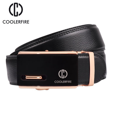 Men's Belt Genuine Leather Belts For Men Luxury Automatic