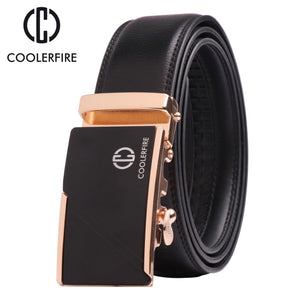 Genuine fashion leather men's belt
