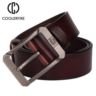 Genuine leather belts for men High Quality