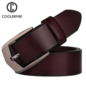 Men's high quality genuine leather belt luxury