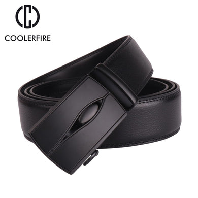 Men's belt luxury high quality genuine leather belt