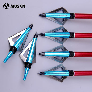 6pcs/lot 100 Grain Hunting Crossbow Arrow Broadhead