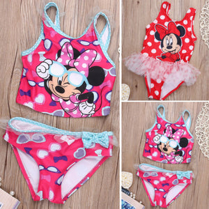 Toddler Girl's Swimming Bikinis Set  One or Two-piece