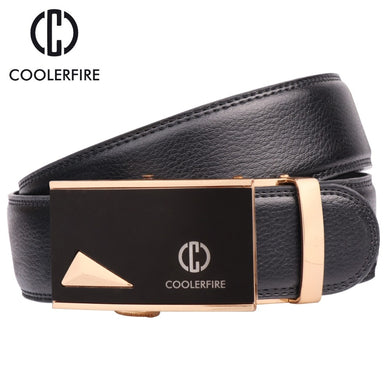 Fashion Men's belts Automatic Buckle Leather