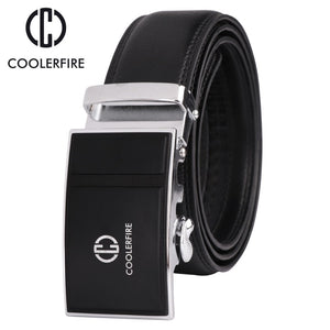 Newest fashion men's belt genuine leather automatic