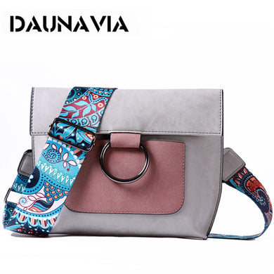 Fashion Women bag with Colorful strap