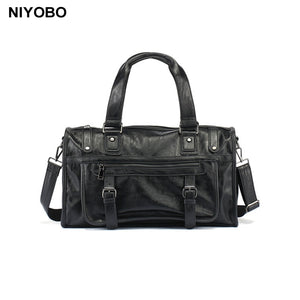 High Quality Men's Handbag PU Leather Shoulder Bag