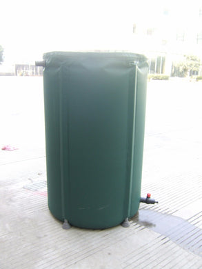 160 Liters foldable bucket Rain Barrel PVC compressible