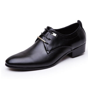Italian Fashion Business Shoes Formal PU leather pointed