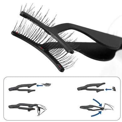 1 pc Magnetic Tweezer False Eyelashes Applicator for Magnet Eyelashes