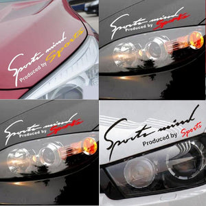 Dewtreetali Car Stickers Reflective Lamp Eyebrow Sports Styling Decor for Outback Forester Legacy XV impreza sti legacy