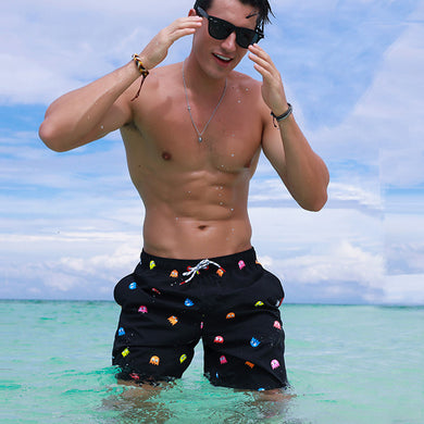 Cartoon swimwear Men's shorts Breathable