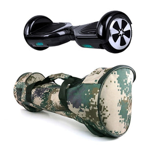 Self Balancing Smart Hover Board Case Carrying Bag Camoflouge