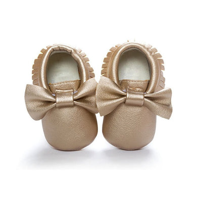 Baby Girls Shoes Tassels PU Leather Waterproof Baby Shoes Pre walker 18 colors