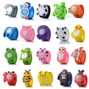 3D Cartoon Watch Animal Cute Children Clock Baby Kid Quartz Waterproof Student Wrist Watches