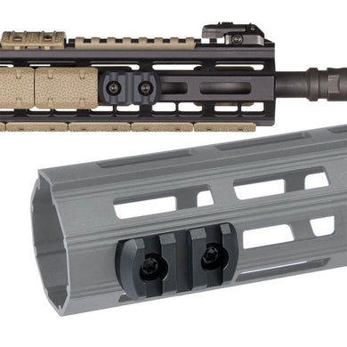 3 5 9 Slots AR15 M4 M16 M-LOK Rail Section Fits AR-15 MLOK Handguard to Mounted