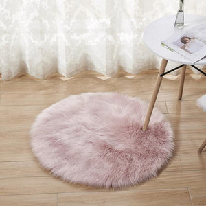 Sheepskin Wool Carpet for Home, various colors