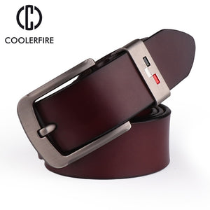New Men's genuine leather belts high quality vintage