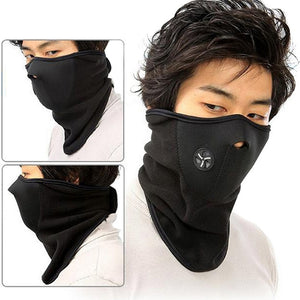 Unisex Motorcycle Warm Mask Neck Warm Snowboard Bike Riding Mask Scarf Accessories Windproof Outdoor Sports Ski Cycling Bicycle