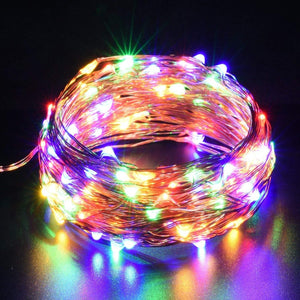 Led Strip light DC5V AA Battery CR2032 USB Powered 10m String Lights Holiday Ligting Christmas New Year Party Wedding Decoration