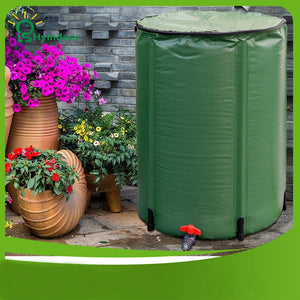 250L 60*88cm Rainwater Collection Bucket Rain Barrel Foldable Outdoor Folding PVC Compressible collecting irrigation tarpaulin