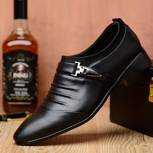 6 Styles Men's Dress Shoes High Quality Business Shoes