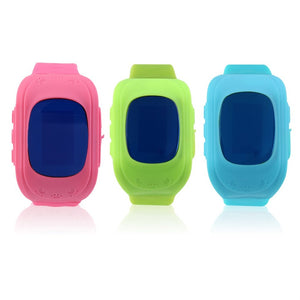 Q50 children Smart watch GPS tracker Kids Wristwatch OLED screen SOS Call  Anti Lost safety tracker for iOS Android