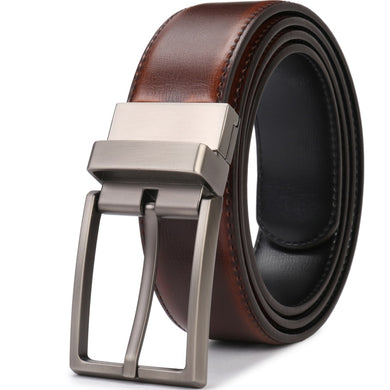 Men's Genuine Leather Belt Reversible