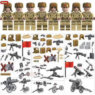 New World War 2 Military Building Blocks