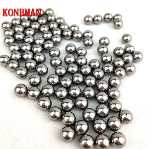 100 pcs/Lot 6mm 7mm 8mm Steel Balls Slingshot Hunting High-carbon Steel Slingshot Balls