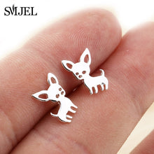Stainless Steel Mickey Stud Earrings for Women & Girls