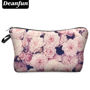Deanfun 3D Printing Roomy Cosmetic Bag Fashion Women Makeup Bags Waterproof Cosmetics Pouchs For Travel H45