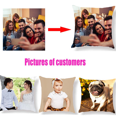 Personal life photos customized Pillow cover