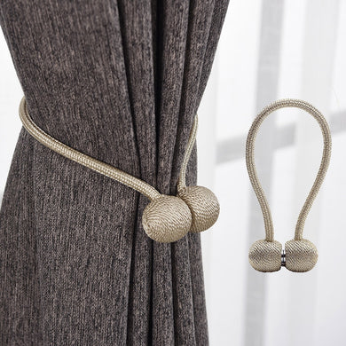 Magnetic Pearl Ball Curtain Tiebacks Tie Backs Hold back Buckle Clips