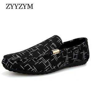 Men's Loafers Casual Shoes Canvas Youth Shoes
