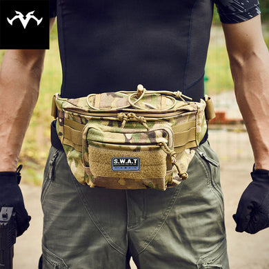 Outdoor Sports leisure Waterproof Tactical Waist Bag Utility Magazine Pouch riding pockets phone camera bags hunting bags