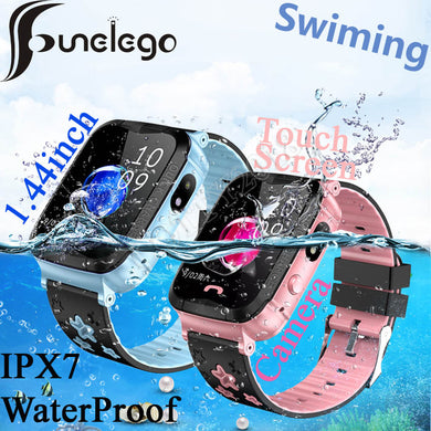 Funelego IP67 Deep Waterproof Kids GPS Smart Phone Watch For Children Water Resistant Watch Phone Baby Swimming SeTracker PK Y03