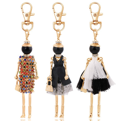 new fashion keychain for women charm key chain bag pendant key ring holder jewelry handmade girl gifts jewelry 2019