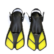 2019 Swimming Fins Snorkeling Foot Flipper Floating Training Fin with Adjustable Heel for Swimming Diving Water Sports