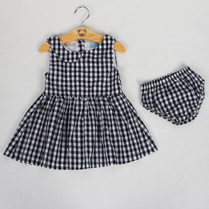 Bear Leader Baby Clothing Sets Cute Summer Sleeveless Dress Girls 3Pieces Sets Short Pants+Dress Set Stripe Patten for Baby 6-24