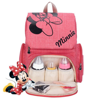 Disney Baby Diaper Bag Printed Backpack Large Capacity