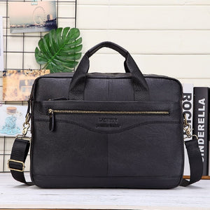 Men's Genuine Leather Handbags Casual