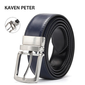 Reversible Leather Belt Men's Accessories Luxury