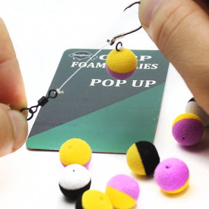 15 pcs Fishing Bait Duo Foam Pop Up Bobbers